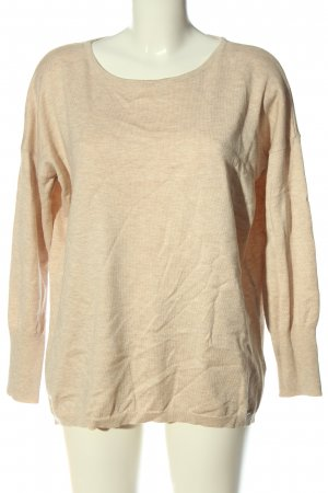 More & More Oversized Pullover creme meliert Casual-Look