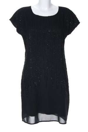 More & More Pailettenkleid schwarz Elegant