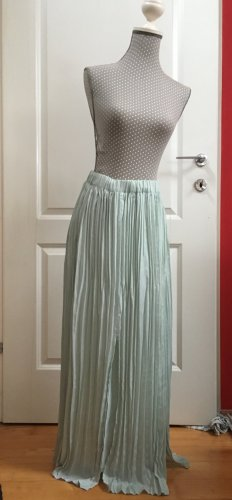 More & More Pleated Skirt baby blue mixture fibre
