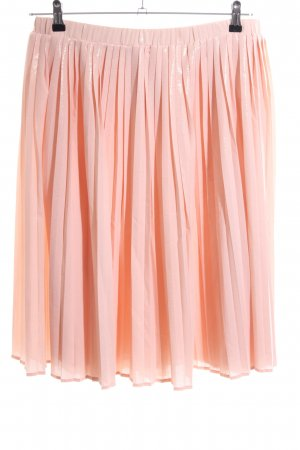 More & More Pleated Skirt nude casual look