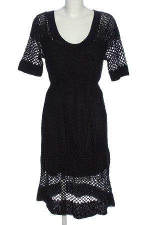 More & More Abito maglione nero stile casual