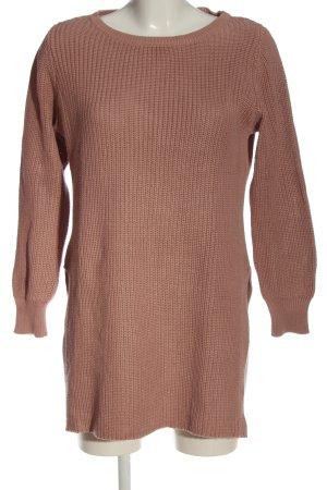 More & More Abito maglione marrone stile casual