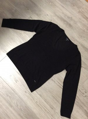 More&More pure Pullover Gr 42 schwarz
