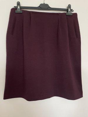 More & More Mini-jupe brun pourpre