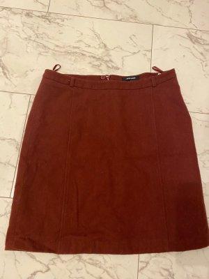 More and More Spódnica z dzianiny bordo-czerwony
