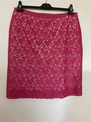 More & More Lace Skirt raspberry-red