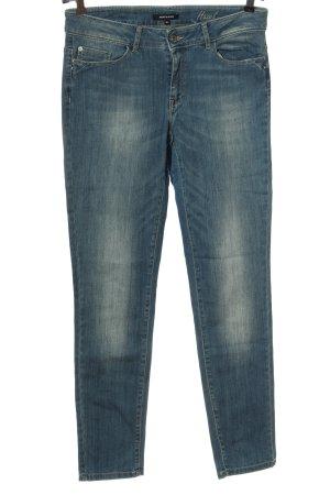 More & More Jeansy rurki niebieski W stylu casual