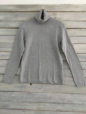 More & More Jersey de cuello alto gris claro