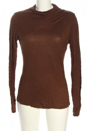 More & More Turtleneck Shirt brown casual look