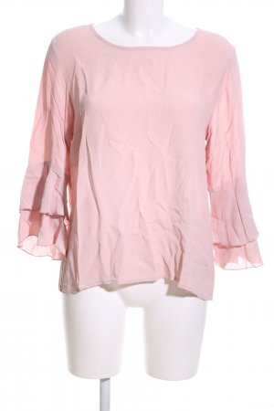 More & More Rüschen-Bluse pink Casual-Look