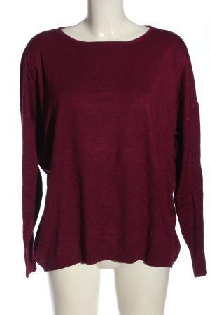 More & More Sweter z okrągłym dekoltem czerwony W stylu casual