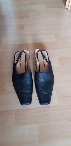 More and More Hoge hakken sandalen zwart