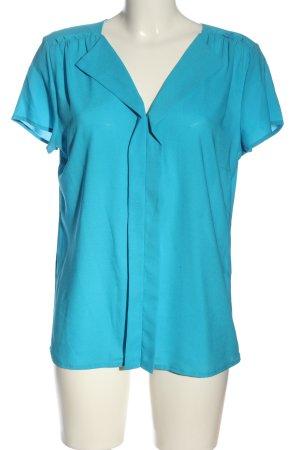 More & More Schlupf-Bluse blau Casual-Look