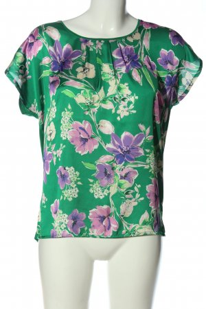 More & More Schlupf-Bluse Blumenmuster Casual-Look