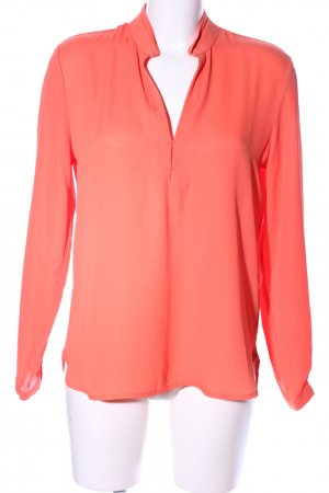 More & More Schlupf-Bluse hellorange Casual-Look