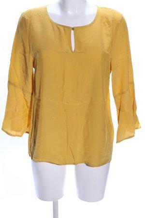 More & More Blusa caída amarillo pálido look casual