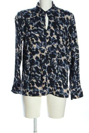 More & More Schlupf-Bluse abstraktes Muster Elegant