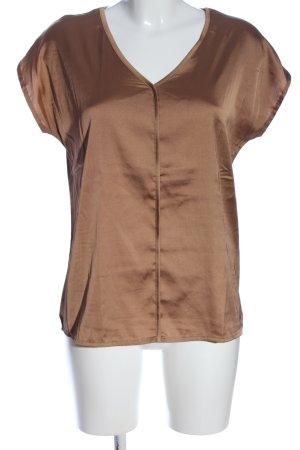More & More Schlupf-Bluse bronzefarben Casual-Look
