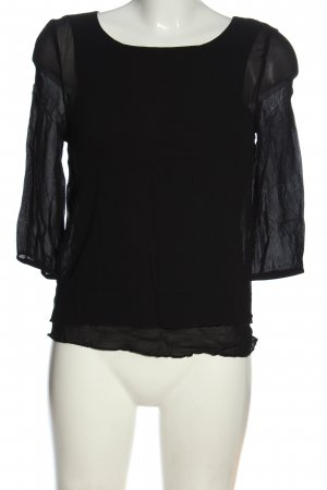 More & More Schlupf-Bluse schwarz Elegant