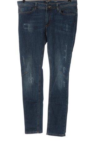 More & More Jeans slim bleu style décontracté