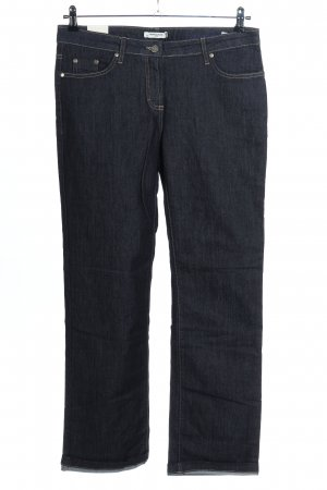 More & More Straight-Leg Jeans blau Casual-Look