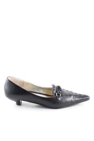 More & More Sandalo con tacco nero elegante