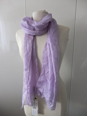 More & More Zijden sjaal paars Zijde