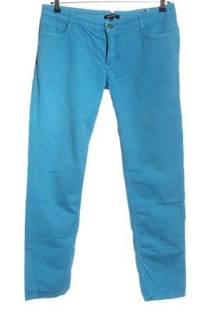 More & More Stoffhose blau Casual-Look
