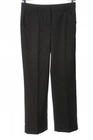 More & More Stoffhose schwarz meliert Casual-Look