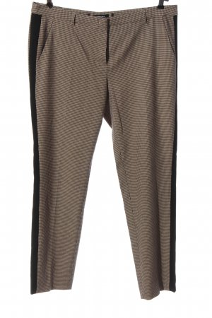 More & More Stoffhose Karomuster Casual-Look