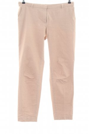 More & More Stoffhose nude Allover-Druck Casual-Look