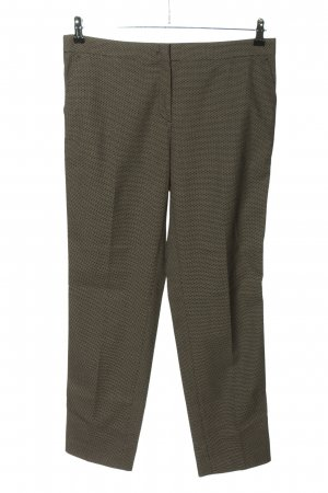More & More Stoffhose schwarz-creme Punktemuster Casual-Look