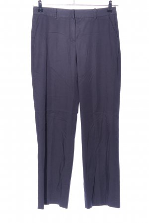 More & More Stoffhose lila Business-Look
