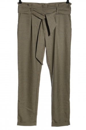 More & More Stoffhose Allover-Druck Business-Look