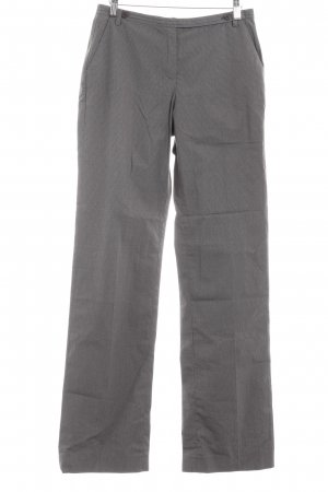 More & More Stoffhose grau-schwarz Hahnentrittmuster Business-Look