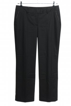 More & More Pantalon en jersey noir style décontracté
