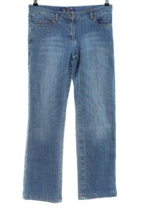 More & More Jeansy z prostymi nogawkami niebieski W stylu casual