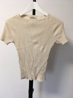 More&more Stretch Shirt bauchfrei beige  S