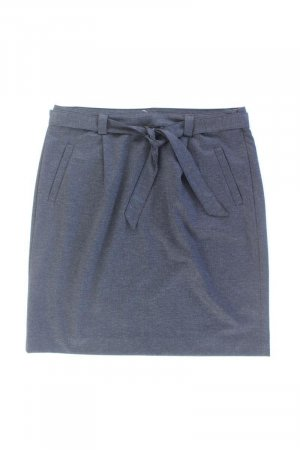 More&More Stretchrock Größe 44 blau aus Polyester