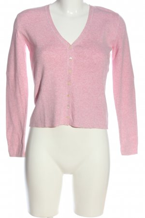 More & More Strick Cardigan pink meliert Casual-Look