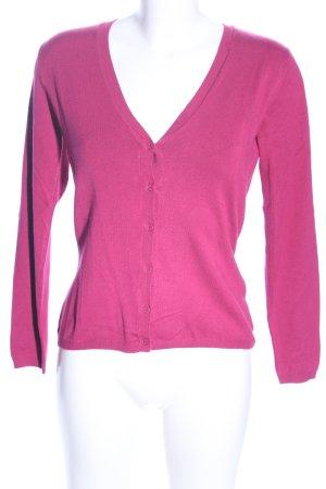 More & More Strickjacke pink Casual-Look