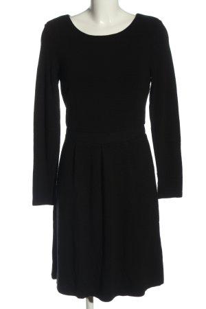 More & More Robe en maille tricotées noir style décontracté