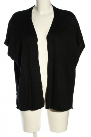 More & More Strickponcho schwarz Casual-Look