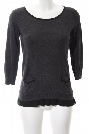 More & More Strickpullover schwarz Casual-Look