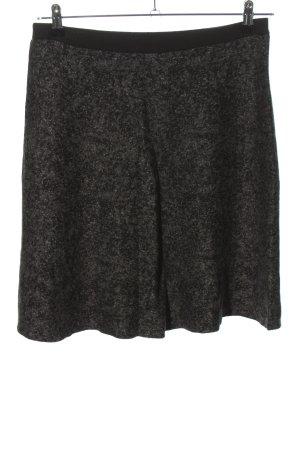 More & More Jupe tricotée noir moucheté style décontracté
