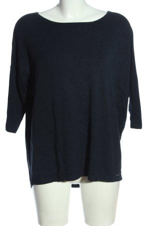 More & More T-Shirt schwarz Casual-Look