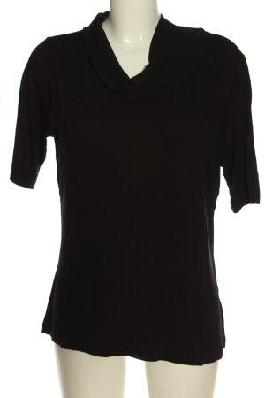 More & More Strickshirt schwarz Casual-Look