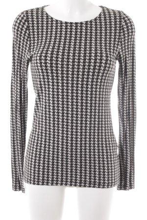 More & More Sweatshirt Allover-Druck Casual-Look