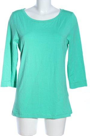 More & More Sweatshirt türkis Casual-Look