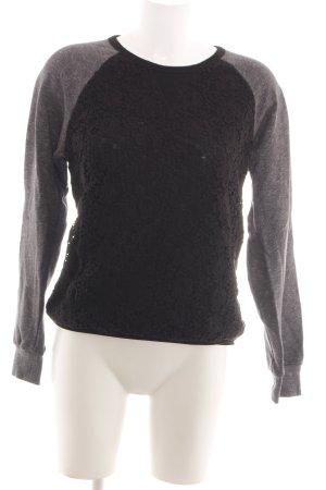 More & More Sweatshirt bronzefarben-hellgrau meliert Casual-Look